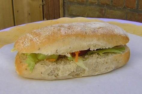 Ciabatta tonijn salade - Graaggedaan