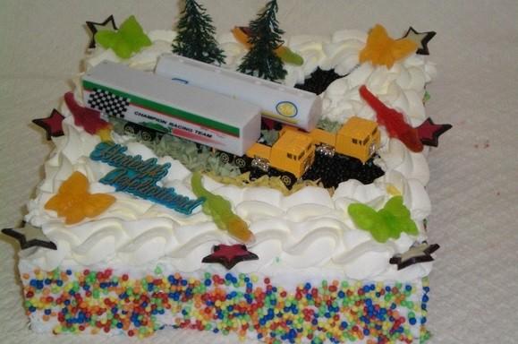 Vrachtwagen taart - Graaggedaan