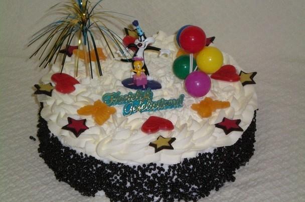 Tweety en Sylvester taart - Graaggedaan