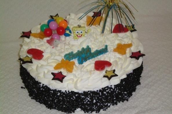 Sponge bob taart - Graaggedaan