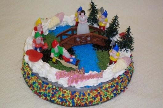 Sneeuwwitje taart - Graaggedaan