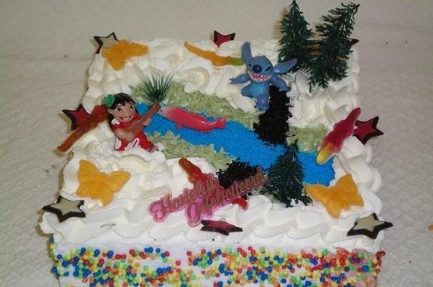 Lilo en Stitch taart - Graaggedaan