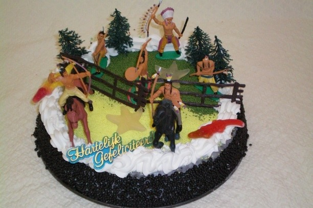 Indianen taart - Graaggedaan