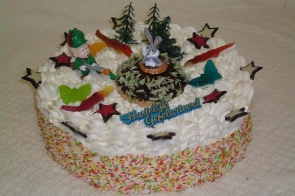 Buggs Bunny taart - Graaggedaan