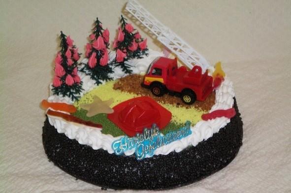 Brandweer taart - Graaggedaan