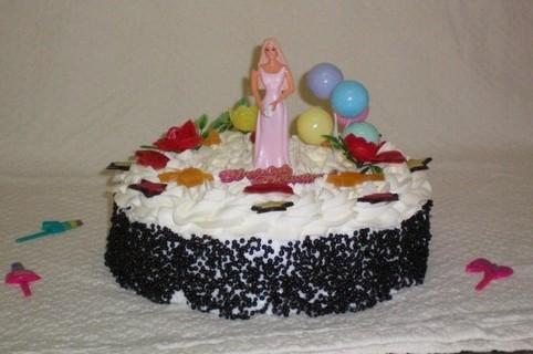 Barbie taart - Graaggedaan