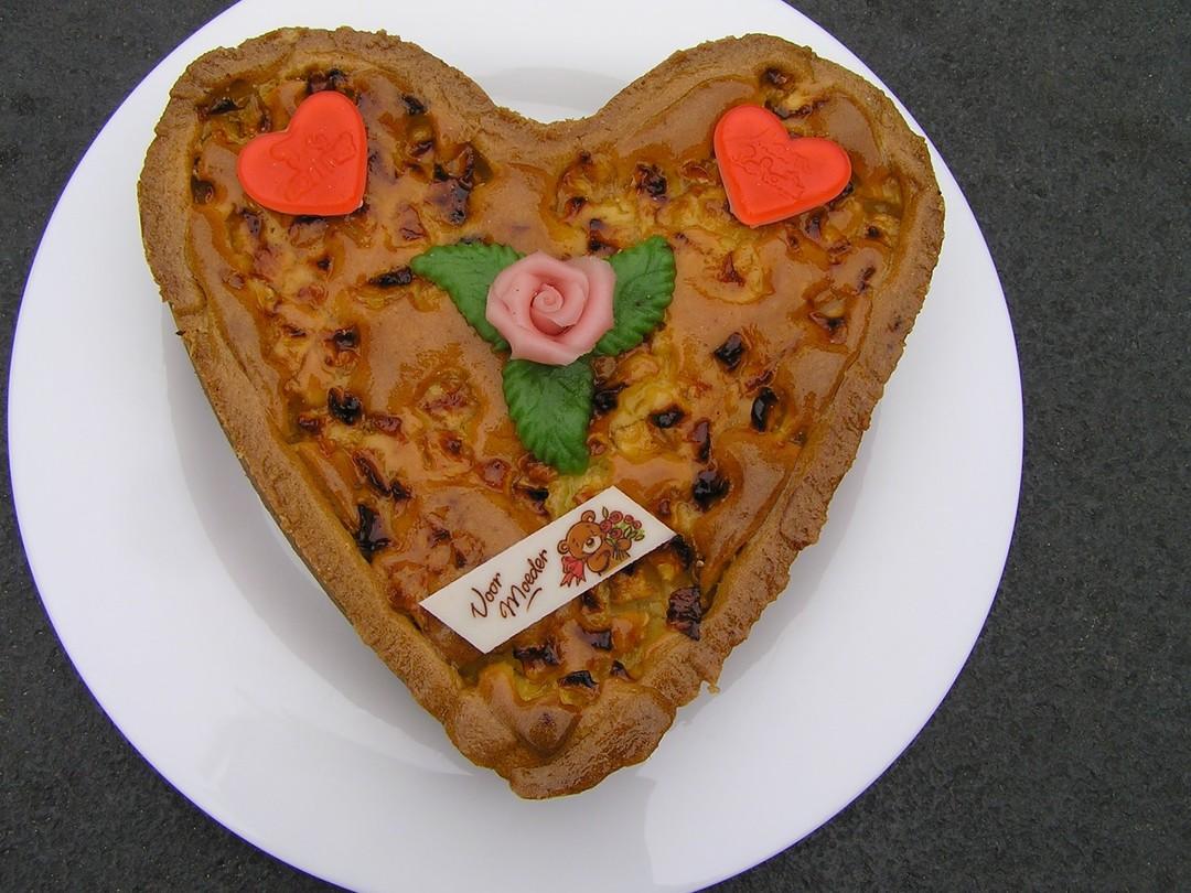 Hart van appelcake - Graaggedaan